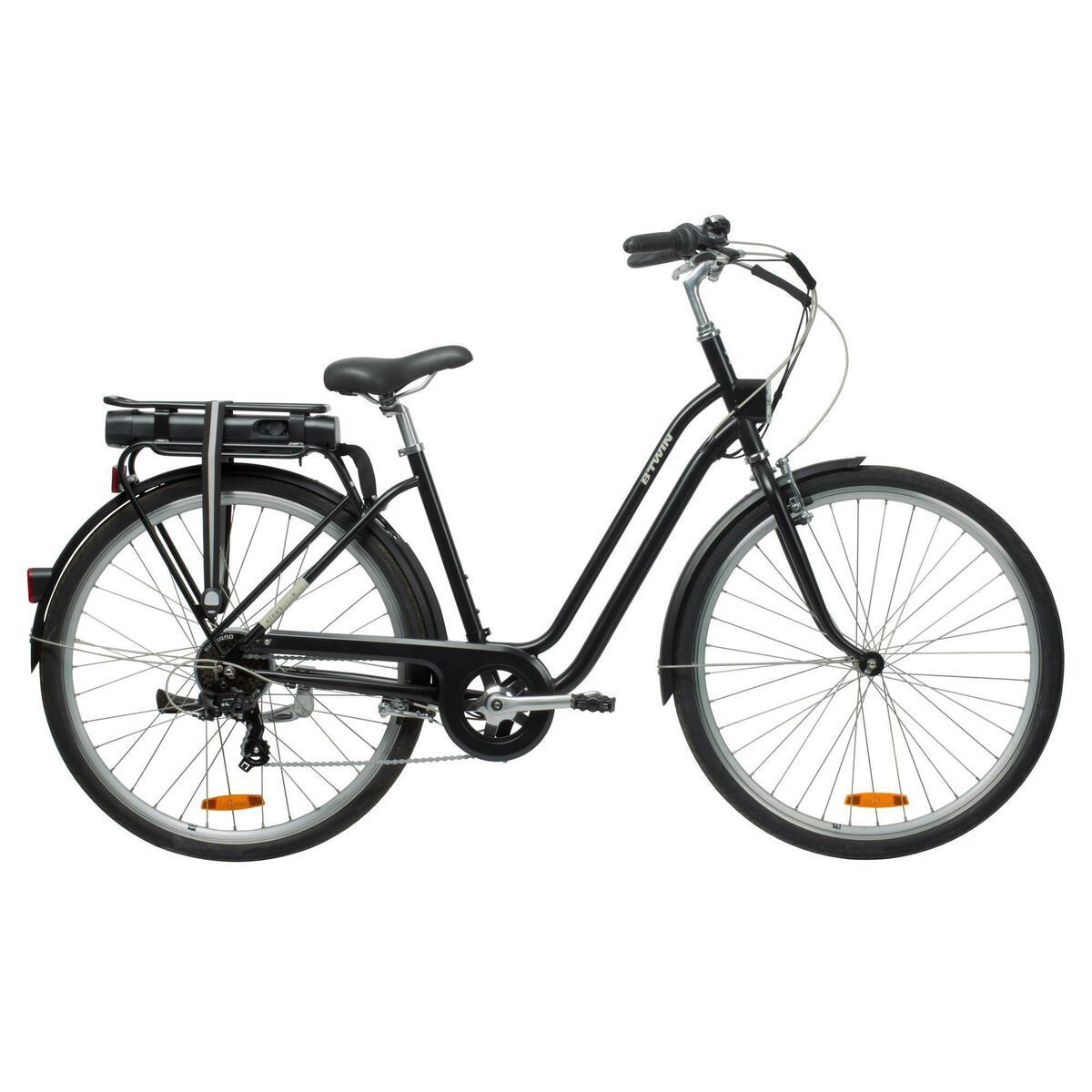 Bild 1 von E-Bike City Bike 28 Zoll Elops 500E LF schwarz