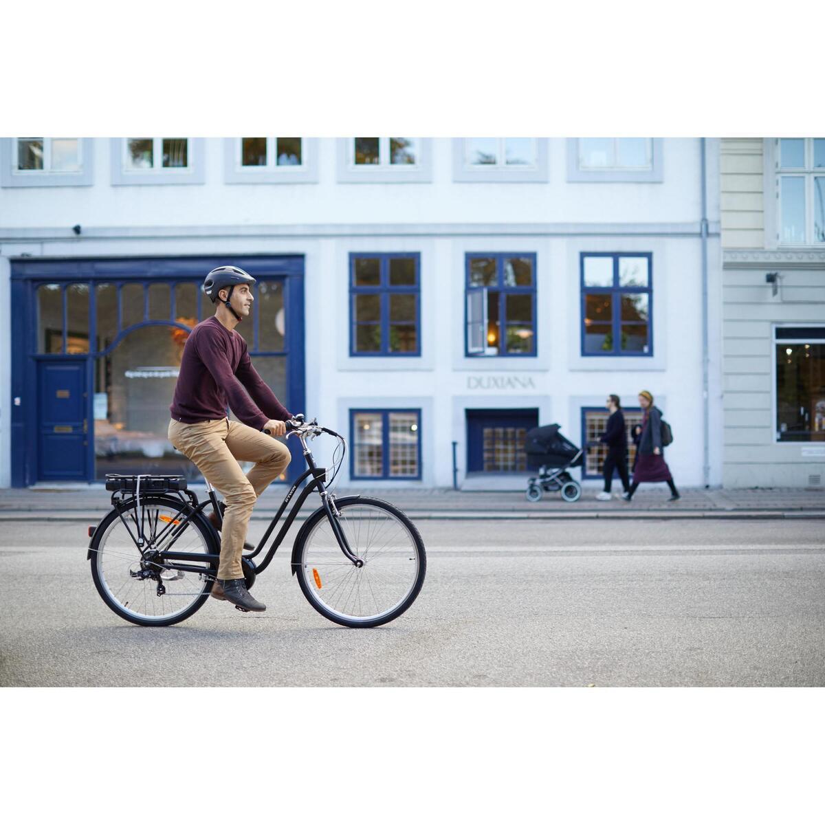 Bild 2 von E-Bike City Bike 28 Zoll Elops 500E LF schwarz