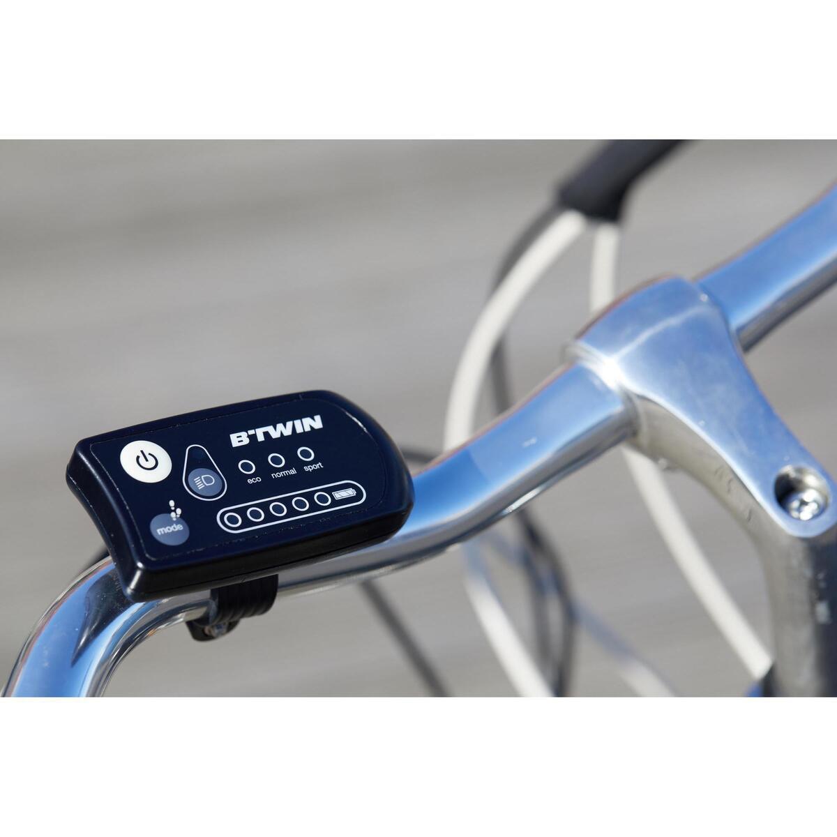 Bild 3 von E-Bike City Bike 28 Zoll Elops 500E LF schwarz