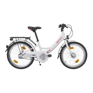 City Bike Kinderfahrrad 20 Zoll Decsy Wave weiß/pink