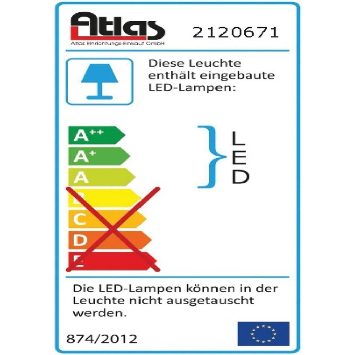 Bild 2 von DesignLive LED-Deckenleuchte LACAN