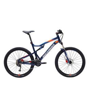 MOUNTAINBIKE ST 540 S 27,5 Zoll blau/orange