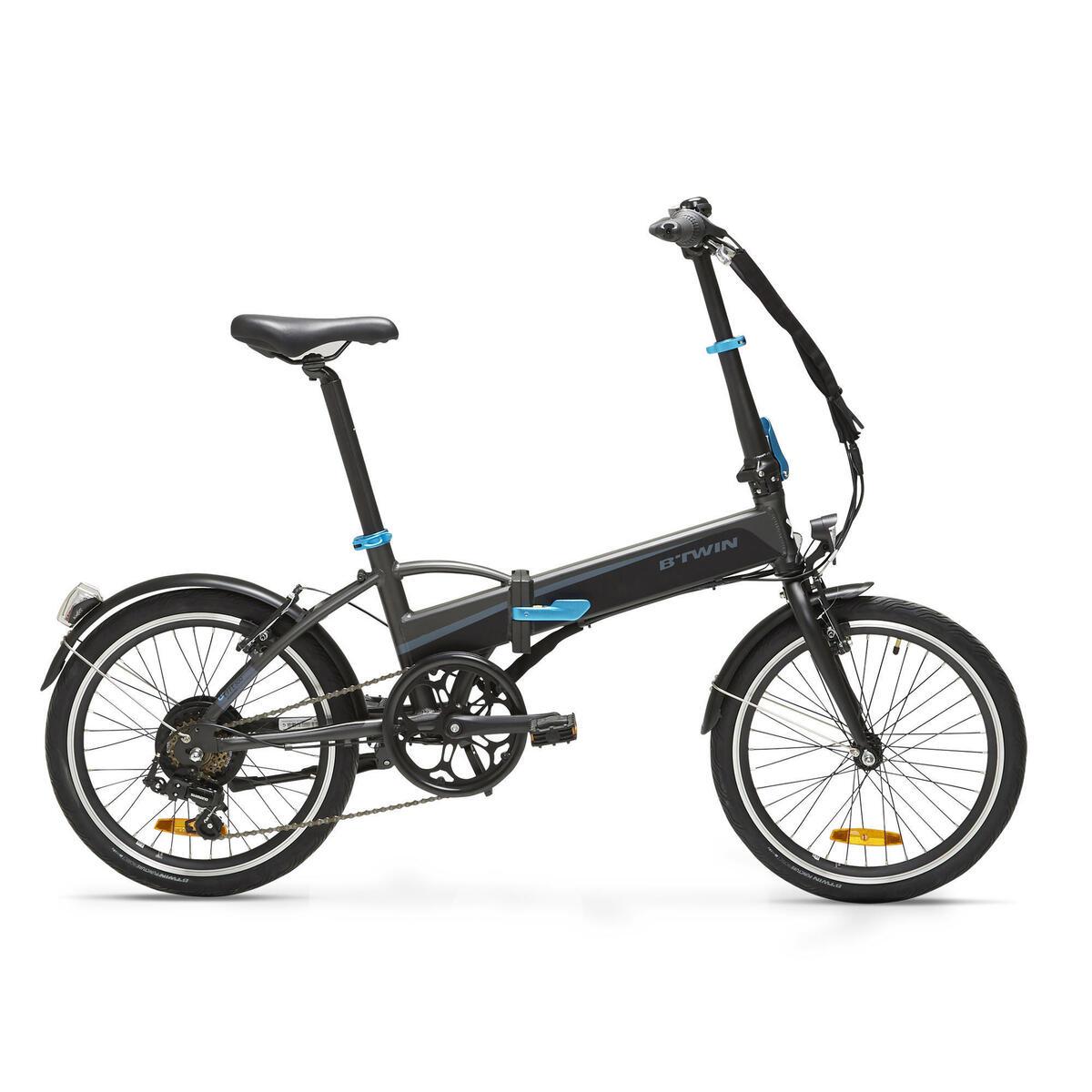 Bild 1 von E-Bike Faltrad Klapprad 20 Zoll Tilt 500E schwarz