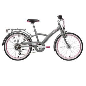 City Bike Kinderfahrrad 20 Zoll Mistigirl 540 dunkelgrau/rosa