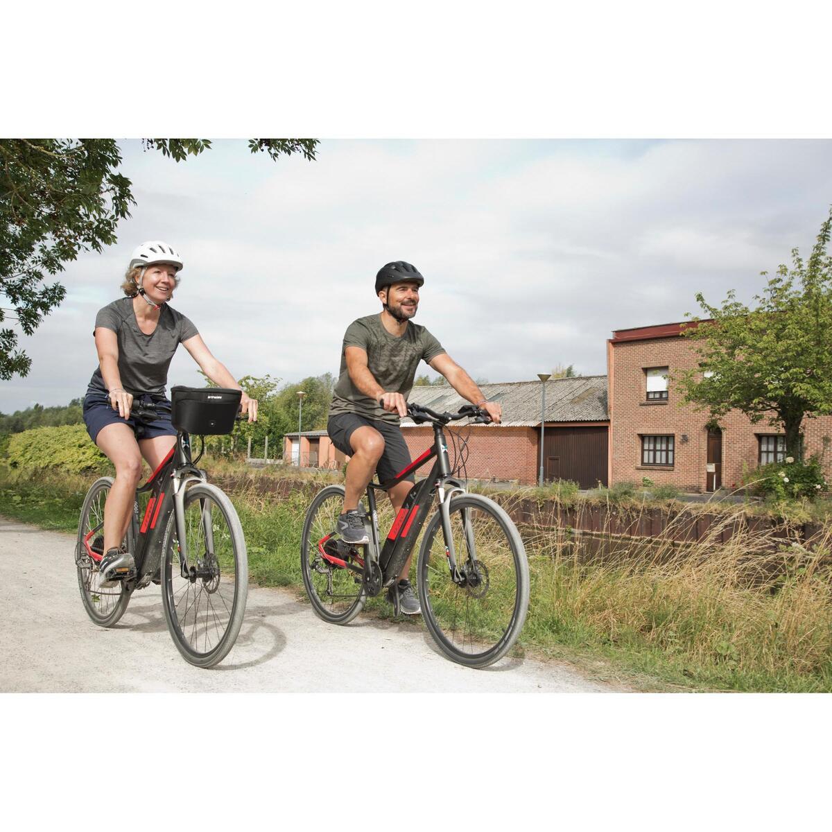 Bild 2 von E-Bike Cross Bike 28 Zoll Riverside 500 E grau/rot