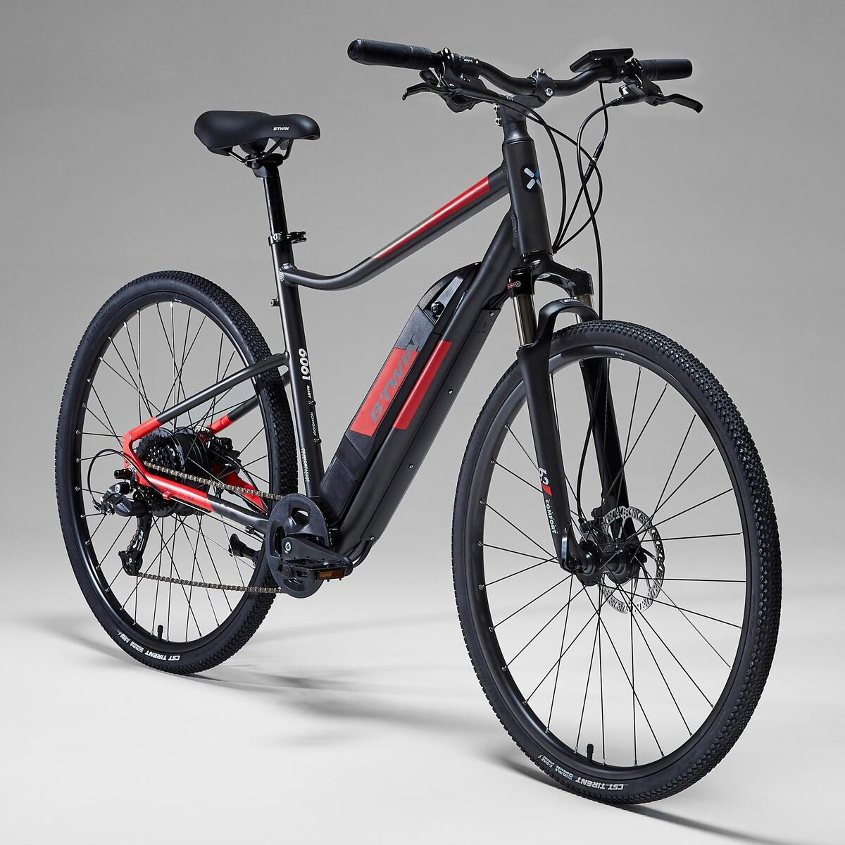 Bild 3 von E-Bike Cross Bike 28 Zoll Riverside 500 E grau/rot
