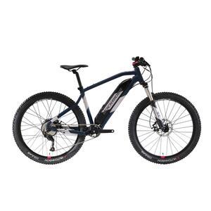 E-Mountainbike 27,5 Zoll Rockrider E-ST 500 Damen blau