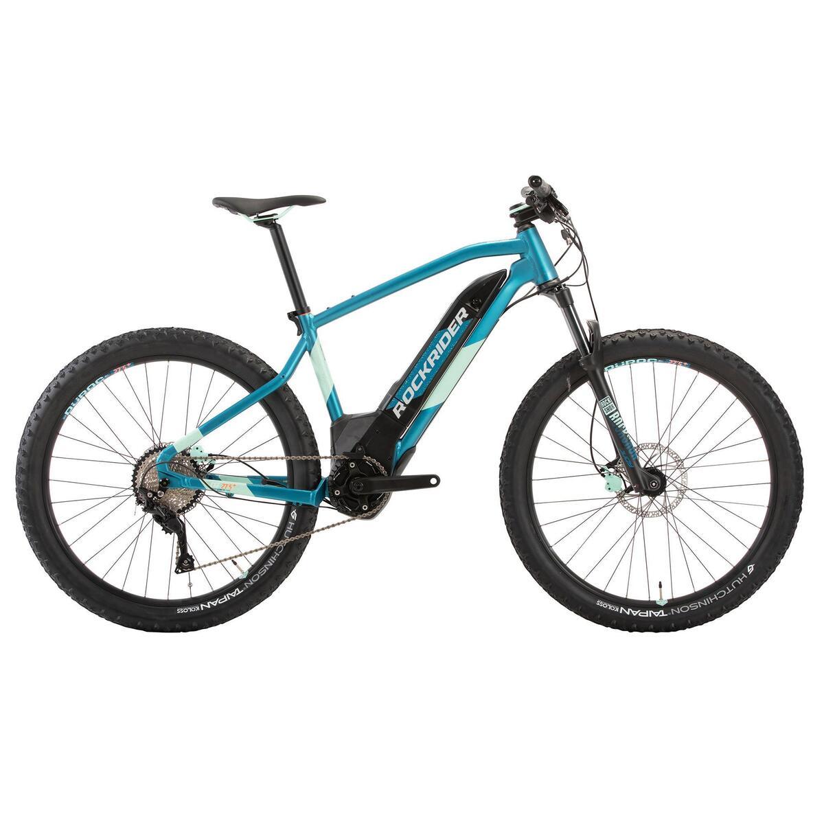 Bild 1 von E-Mountainbike 27,5 Zoll Rockrider E-ST900 Damen türkis