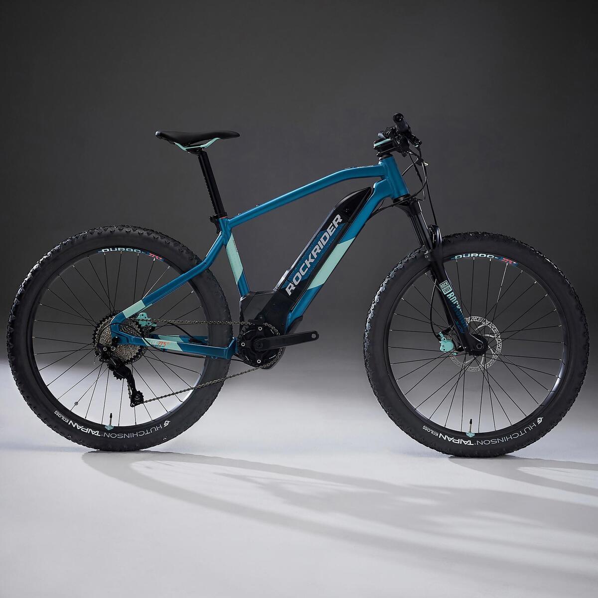 Bild 2 von E-Mountainbike 27,5 Zoll Rockrider E-ST900 Damen türkis