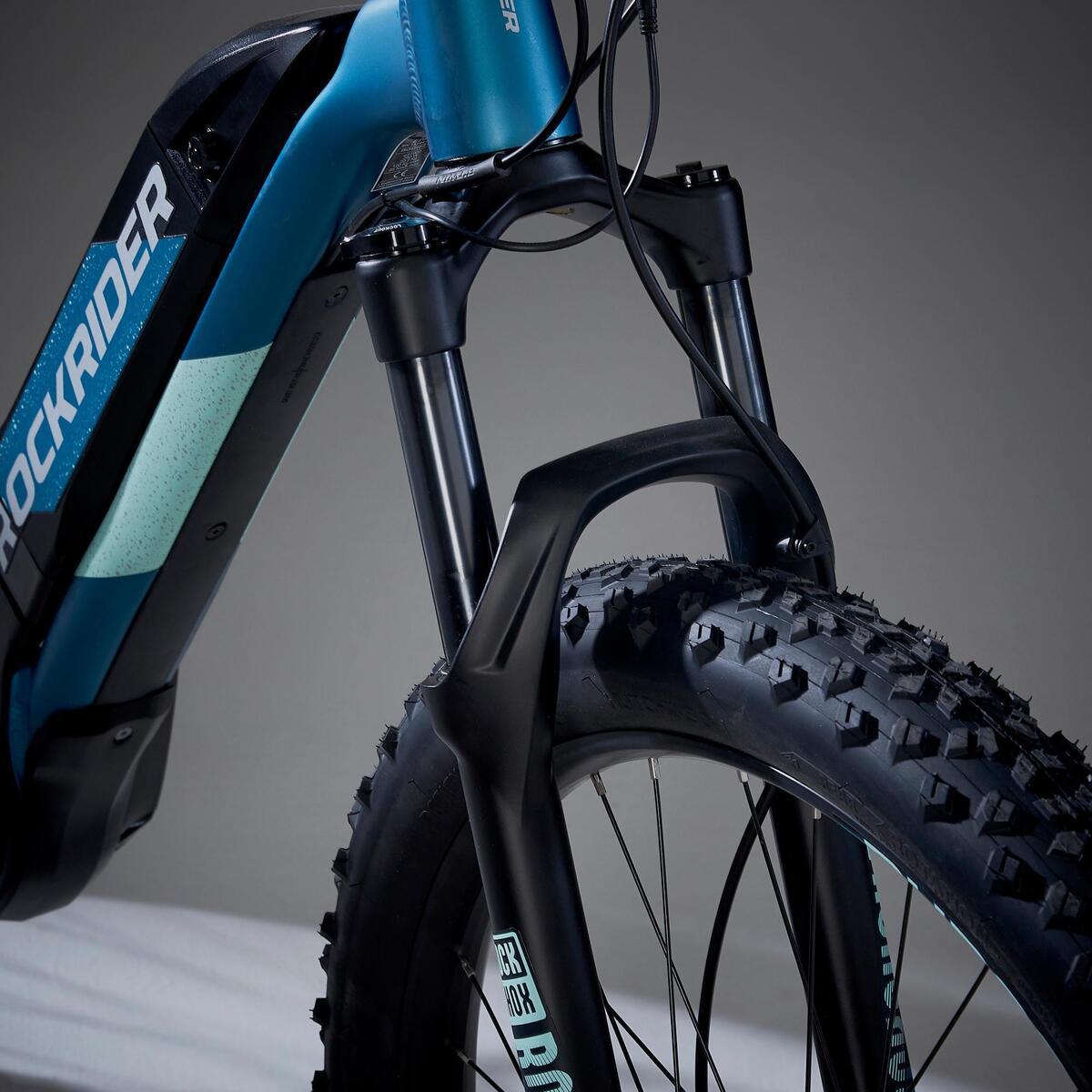 Bild 4 von E-Mountainbike 27,5 Zoll Rockrider E-ST900 Damen türkis