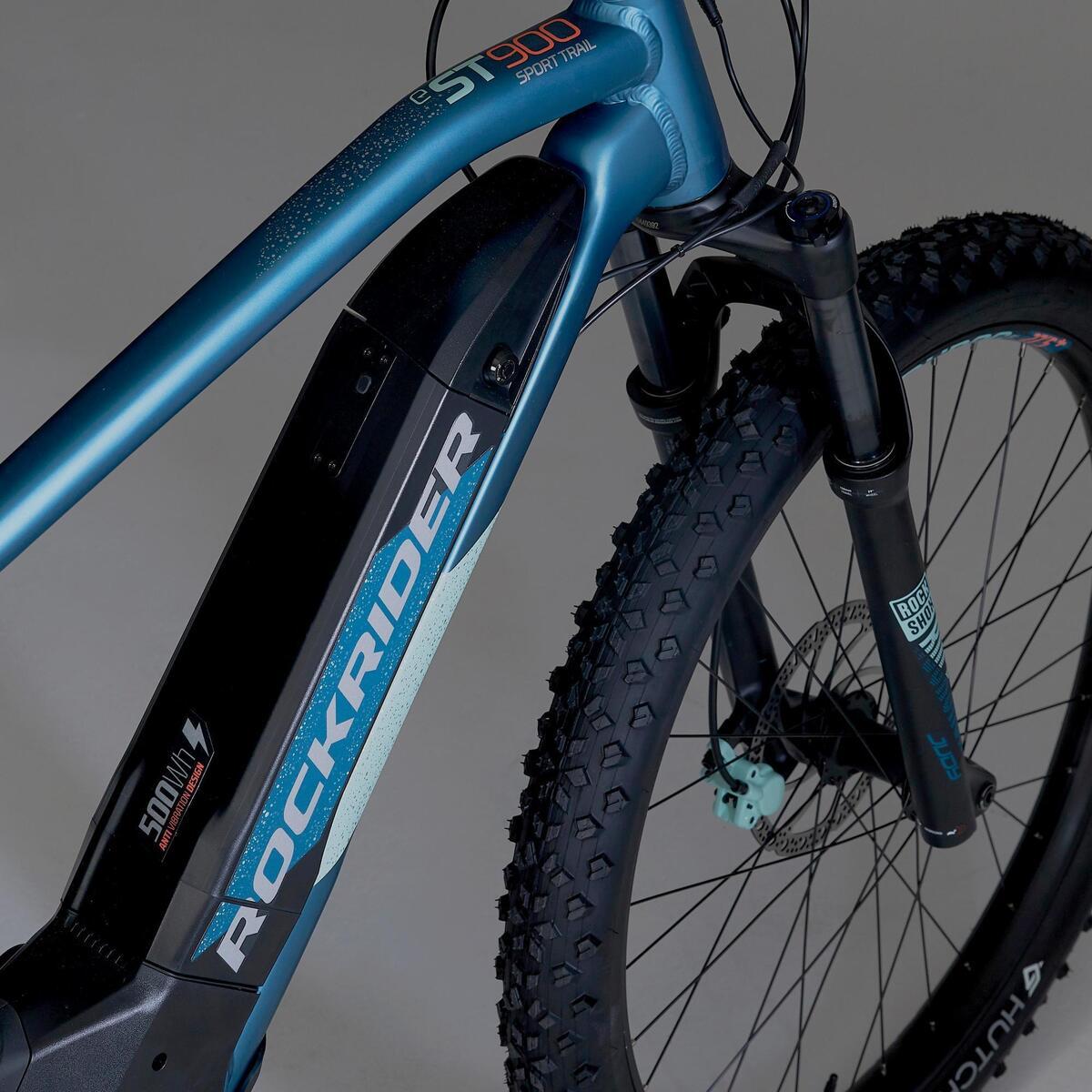 Bild 5 von E-Mountainbike 27,5 Zoll Rockrider E-ST900 Damen türkis