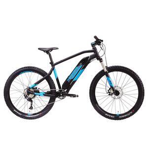 E Mountainbike E-ST 500 V2 27,5 Zoll schwarz/blau