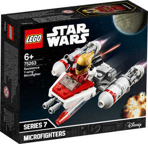 LEGO STAR WARS  							Bauset 75263 »Widerstands Y-Wing Microfighter«