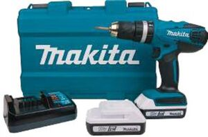 Makita Akku-Schlagbohrschrauber HP 457DWE