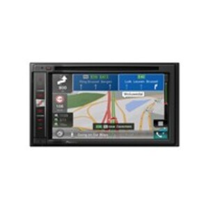 "Pioneer AVIC-F980BT Autoradio/Mediacenter mit Navigation, Clear Type Resistive-Touchscreen 6,2"" (15,75 cm), Apple CarPlay, Bluetooth, CD/DVD und FM, 2-DIN"