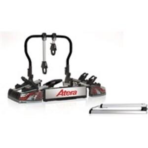 Atera Varioflex E Fahrradheckträger inkl. Auffahrschiene - Trägersystem für 2 Fahrräder / 2 E-Bikes