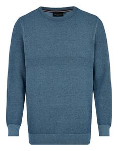 Bexleys man - Pullover in zweifarbiger Struktur