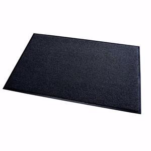 acerto® Schmutzfangmatte ZANZIBAR schwarz 40x60cm