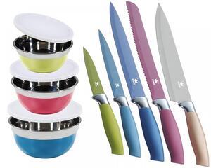 KING 8tlg. Vorteilsset inkl. Schüsseln und Messer