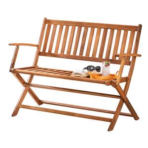 Deuba Klappbare Holz-Gartenbank