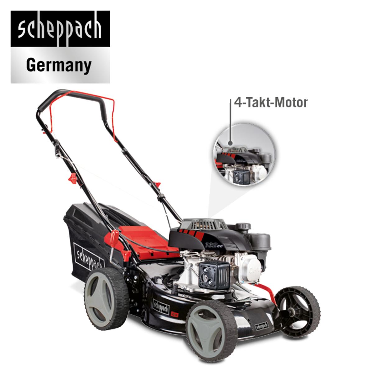 Bild 2 von Scheppach Benzin-Rasenmäher MP132-42