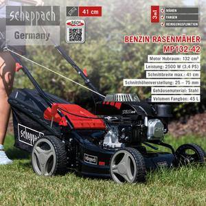 Scheppach Benzin-Rasenmäher MP132-42