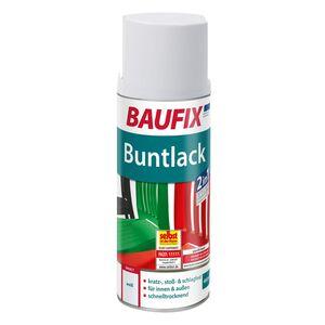 BAUFIX Buntlack Spray weiß
