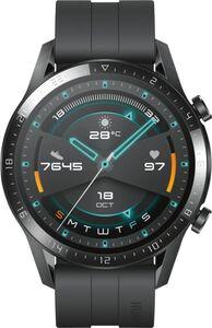 Huawei WATCH GT 2 46mm Sport, matte black farbenes Armband