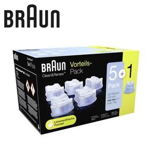 Reinigungskartusche Clean & Renew CCR 5+1 · geeignet für alle Braun-Reinigungssysteme · Vorteilspack 5 + 1