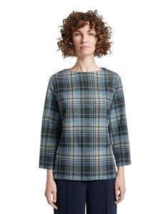 TOM TAILOR - Shirt im Allover-Karo-Muster