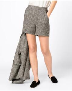 Hallhuber Shorts aus Bouclé für Damen in multicolor