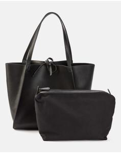 Hallhuber Shopper mit separater Innentasche für Damen Gr. One Size in schwarz