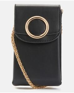 Hallhuber Smartphone-Umhängetasche für Damen Gr. One Size in schwarz