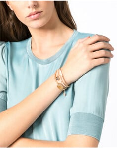 Hallhuber Dreiteiliges Armband-Set für Damen in gold