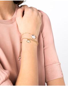 Hallhuber Zweiteiliges Armband-Set für Damen in gold