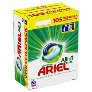 Ariel All-in-1 Pods Universal, 105 WL