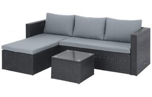 Lounge-Sofa-Set polyrattangeflecht