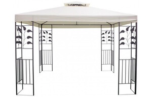 Pavillon Ranke ca. 300x300 cm beige