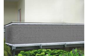 Sichtschutz HDPE-Gewebe anthrazit ca. 0,9 x 5 m