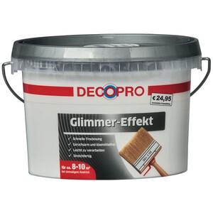 DecoPro Lasur Glimmer Effekt 1 Liter Perlmutt Finish fein
