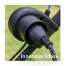 Bild 3 von FERREX     Elektrischer Rasenmäher