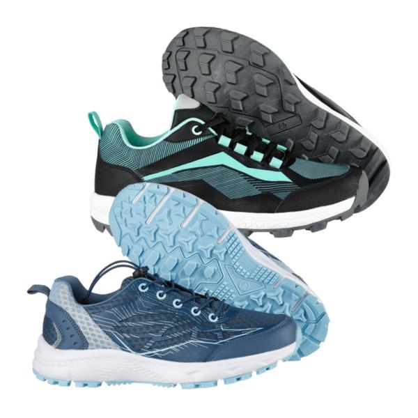 Walkx Outdoor Damen Nordic Walking Schuhe Gelkissen im Fersenbereich Komfort