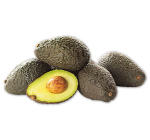 Angereifte Avocado