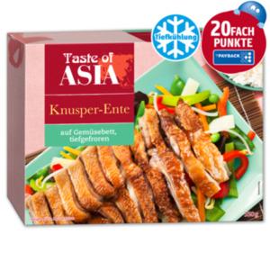 TASTE OF ASIA Knusper-Ente auf Gemüse