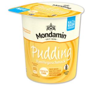 MONDAMIN Pudding Vanille