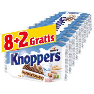 Storck Knoppers 8+2 Stück