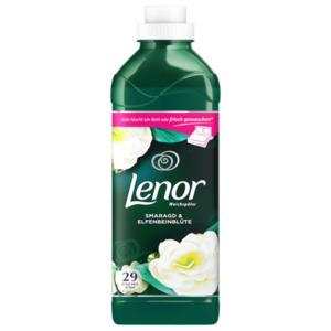 Lenor Weichspüler Konzentrat Smaragd & Elfenbeinblüte 29 WL 870 ml