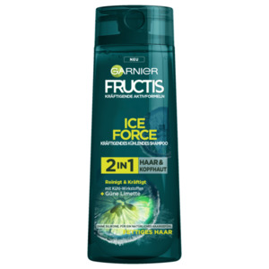 Garnier Fructis Kräftigendes Kühlendes Shampoo Ice Force 250ml