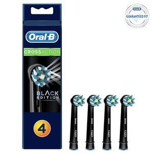 Oral-B CrossAction EB 50 3+1 Black Ersatzbürsten