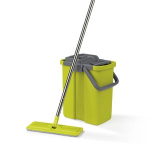 Cleanmaxx Wischsystem Komfort-Mopp grau/grün